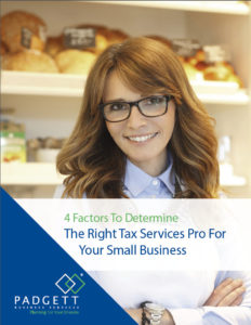 4 Factors to determine the Right Tax Service Pro by Padgett